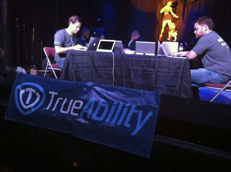 San Antonio's TrueAbility team moved on to the finals in a competition for tech startup firms at the SXSW Interactive Festival. Photo: Valentino Lucio/San AntonioExpress-News
