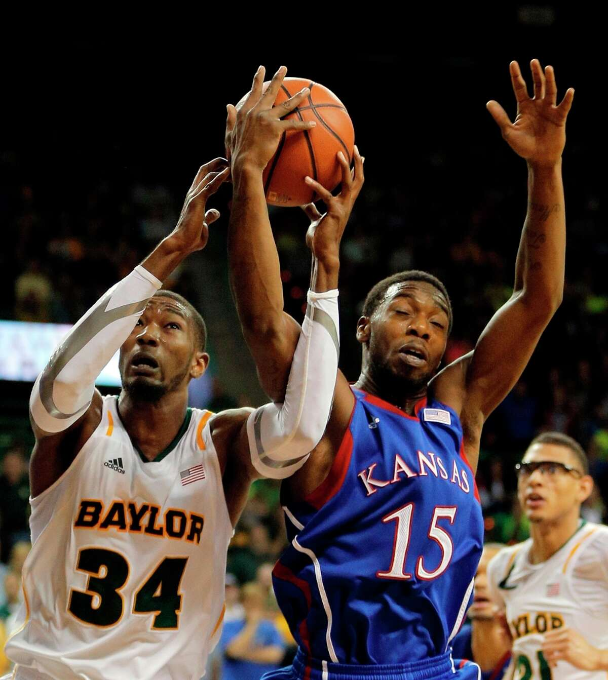 Who's hot - Baylor F Cory Jefferson: Erupted for 25 points in the Bears' victory over Kansas. After failing to hit a 3-pointer in the previous 64 games in his college career, Jefferson hit all three 3-point attempts against the Jayhawks. Jefferson is averaging 15.3 points per game over his last three games and 8.5 rebounds over his last four games.