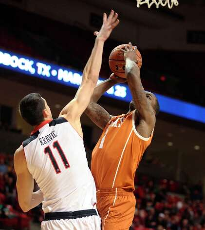 Who's hot - Texas G Sheldon McClellan: Climbed out Rick Barnes' doghouse by erupting for a career-best 27 points in the Longhorns' overtime victory at Texas Tech. McClellan is averaging 25 points per game in his last two games — the biggest two-game scoring binge of his career. McClellan is hitting 53.1 percent from the field (17 of 32) in his last two games and 38 of 40 foul shots (95 percent) over the last eight games. Photo: Zach Long, Associated Press / Lubbock Avalanche-Journal