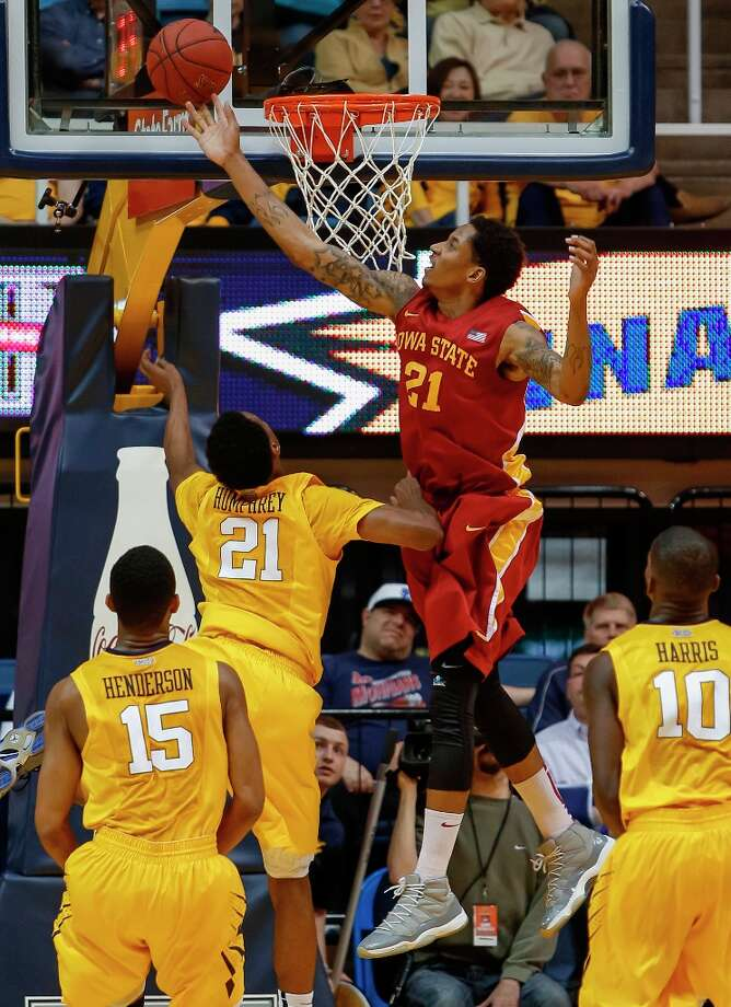 Who's hot - Iowa State F Will Clyburn: Notched 27 points and 10 rebounds to lead the Cyclones' victory over West Virginia. It was his fourth 20-10 game of  the season. He's averaging 23.5 points and 7.5 rebounds in his last two games — both ISU victories. Photo: David Smith, Associated Press / FR93543 AP