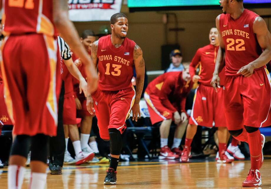 Who's hot - Iowa State G Korie Lucious:Went for 21 points against West Virginia. He's averaged 15.5 points in his last four games. Photo: David Smith, Associated Press / FR93543 AP
