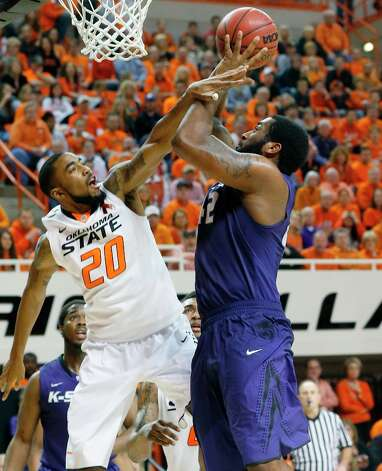Who's hot - Kansas State C Thomas Gipson Came off the bench to provide 15 points and six rebounds for the Wildcats against Oklahoma State. Gipson is averaging 12.5 points, 5.3 rebounds and shooting 70.3 percent from the field over his last four games. Photo: Sue Ogrocki, Associated Press / AP