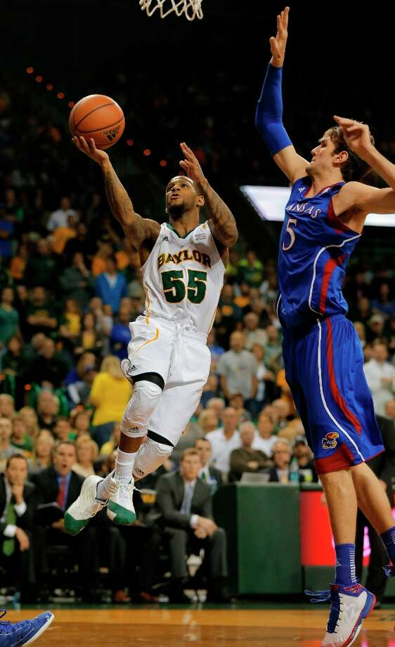Not - Kansas:The Jayhawks' defeat at Baylor was their largest margin since losing at Texas in 2006. Photo: Rod Aydelotte, Associated Press / Waco Tribune Herald
