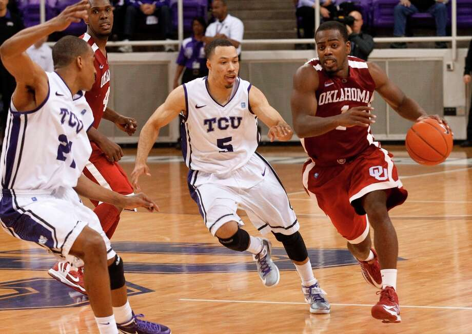 Not - Oklahoma:The Sooners missed all 16 3-pointers against TCU. Photo: Rodger Mallison, Associated Press / Fort Worth Star-Telegram