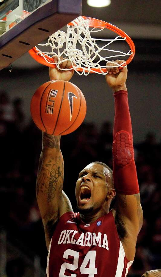 Not - Oklahoma F Romero Osby:Produced only four rebounds — his lowest total in 15 games — in the Sooners' loss at TCU. Photo: Rodger Mallison, Associated Press /  The Fort Worth Star-Telegram