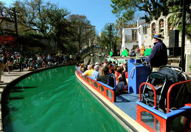 Saturday, March 16 - St. Patrick's Day River Parade: Celebrate the Irish spirit Texas Style at this two-day event featuring authentic Irish music, dance, food and fun!More information Photo: BILLY CALZADA, SAN ANTONIO EXPRESS-NEWS / gcalzada@express-news.net