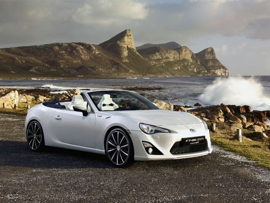 "2013 Toyota FT-86 Open Concept What Popular Mechanics said: ""Okay, it's just a concept. Although Toyota revealed this car at Geneva this month, no production plans have been officially announced. But unlike some concepts, this is obviously much more than a styling exercise.""Source: Popular Mechanics Photo: Toyota"