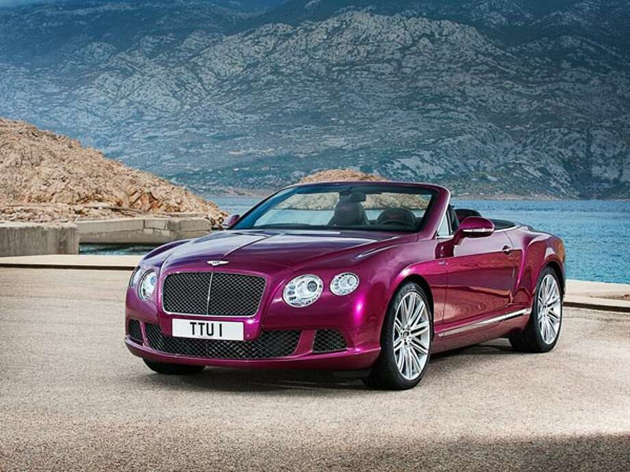 "2013 Bentley Continental GT Speed What Popular Mechanics said: ""The top is so quiet and the interior so comfortable that you could double that mileage and never complain.""Source: Popular Mechanics Photo: Bentley"