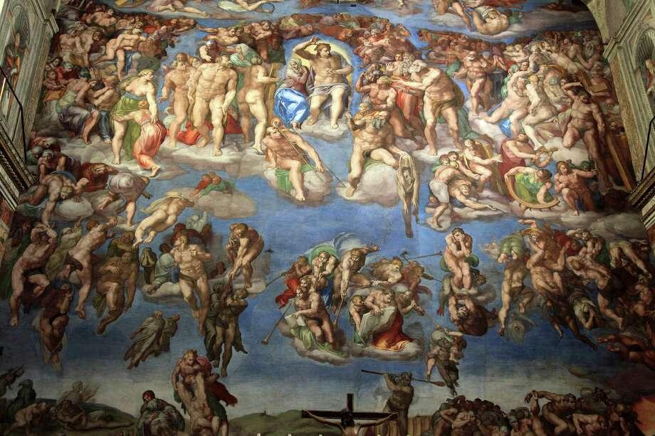 A Closer Look At The Sistine Chapel San Antonio Express News