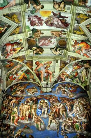Renaissance frescoes by Michelangelo in the Sistine Chapel. Photo: Marco Brivio, Getty Images / (c) Marco Brivio