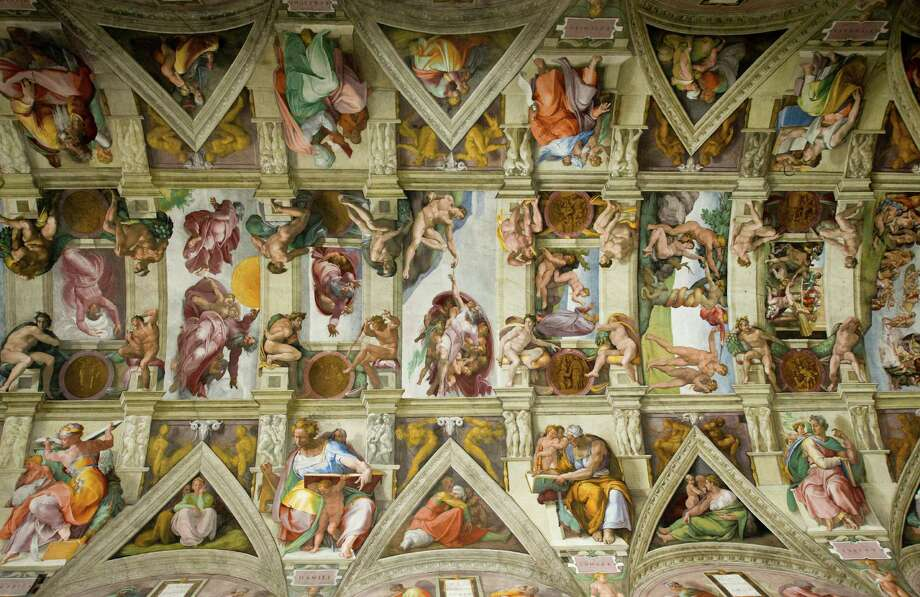 The ceiling of the Sistine Chapel. Photo: Mark Harris, Getty Images / (c) Mark Harris