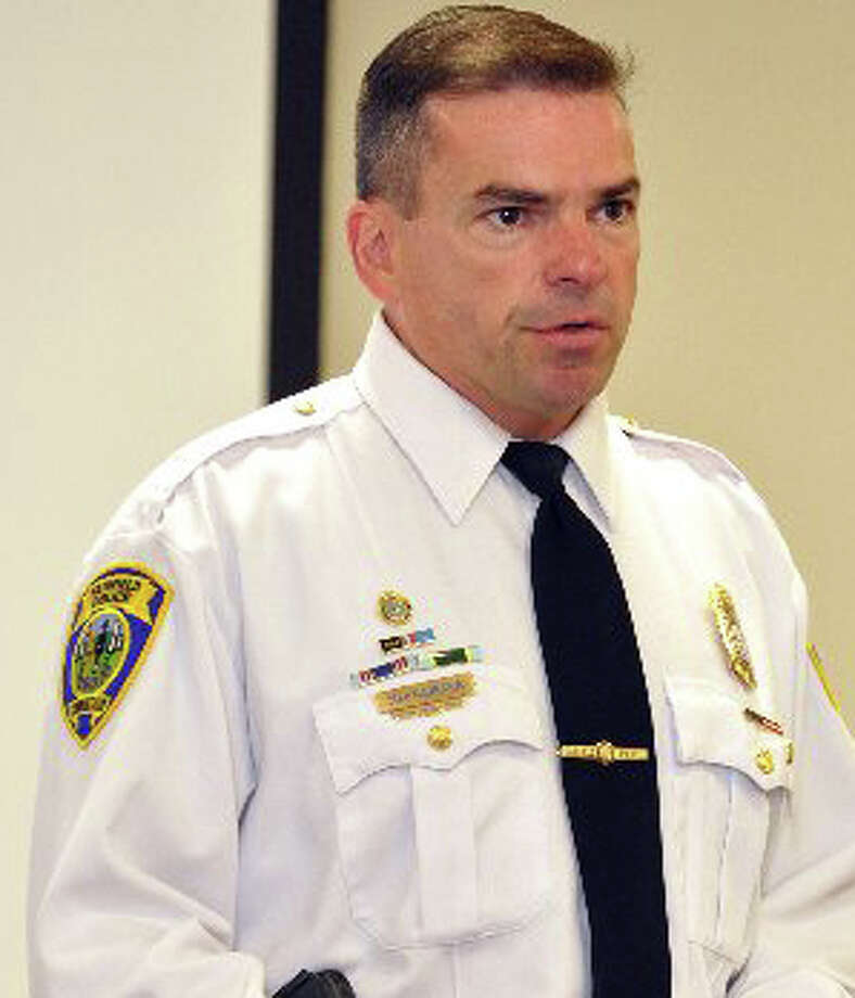 Fairfield Police Chief Gary MacNamara next month will lead a march through downtown to protest violence against women, and organizers are looking for 1,000 men to join him. Photo: File Photo / Fairfield Citizen