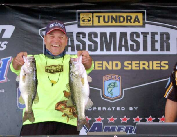 Daniel Pierce won the co-angler division with his three fish limit weighing 11.98 lbs  Photo by Patty Lenderman, Lakecaster