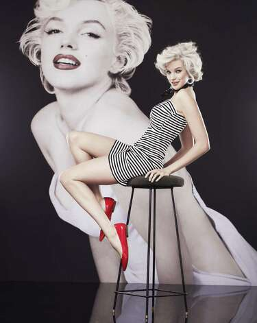 Black and white striped strapless dress from Macy's Marilyn Monroe collection, dress, $59.50. Photo: Picasa, Photo Courtesy Macy's / Macy's