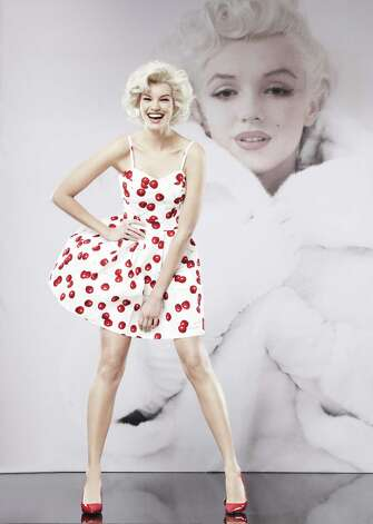 Marilyn Monroe flirty cherry print summer dress, Macy's, $59.50 Photo: Picasa, Photo Courtesy Macy's / Macy's