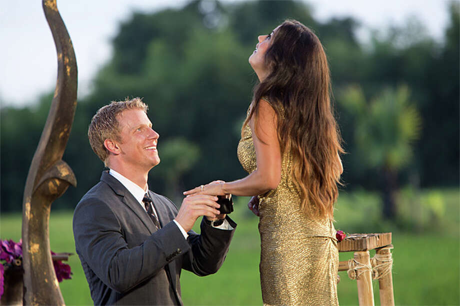 "Sean Lowe makes his choice Monday night on ""The Bachelor"": Seattle's Catherine Giudici. (ABC/Dave Hagerman)  Photo: Dave Hagerman, Abc / © 2013 American Broadcasting Companies, Inc. All rights reserved."