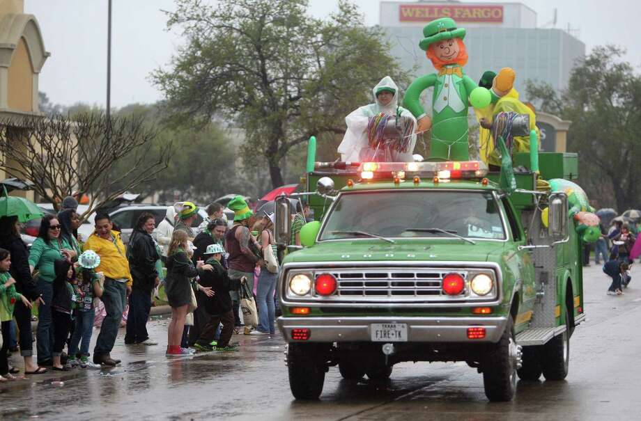 The original St. Patrick's Day parade on FM 1960 was started by a group of people who had convertibles and drove around on St. Patrick's Day, according to parade chairman Jeff Doran. The event has evolved considerably since then. Photo: Thomas Nguyen, Freelance / Freelance