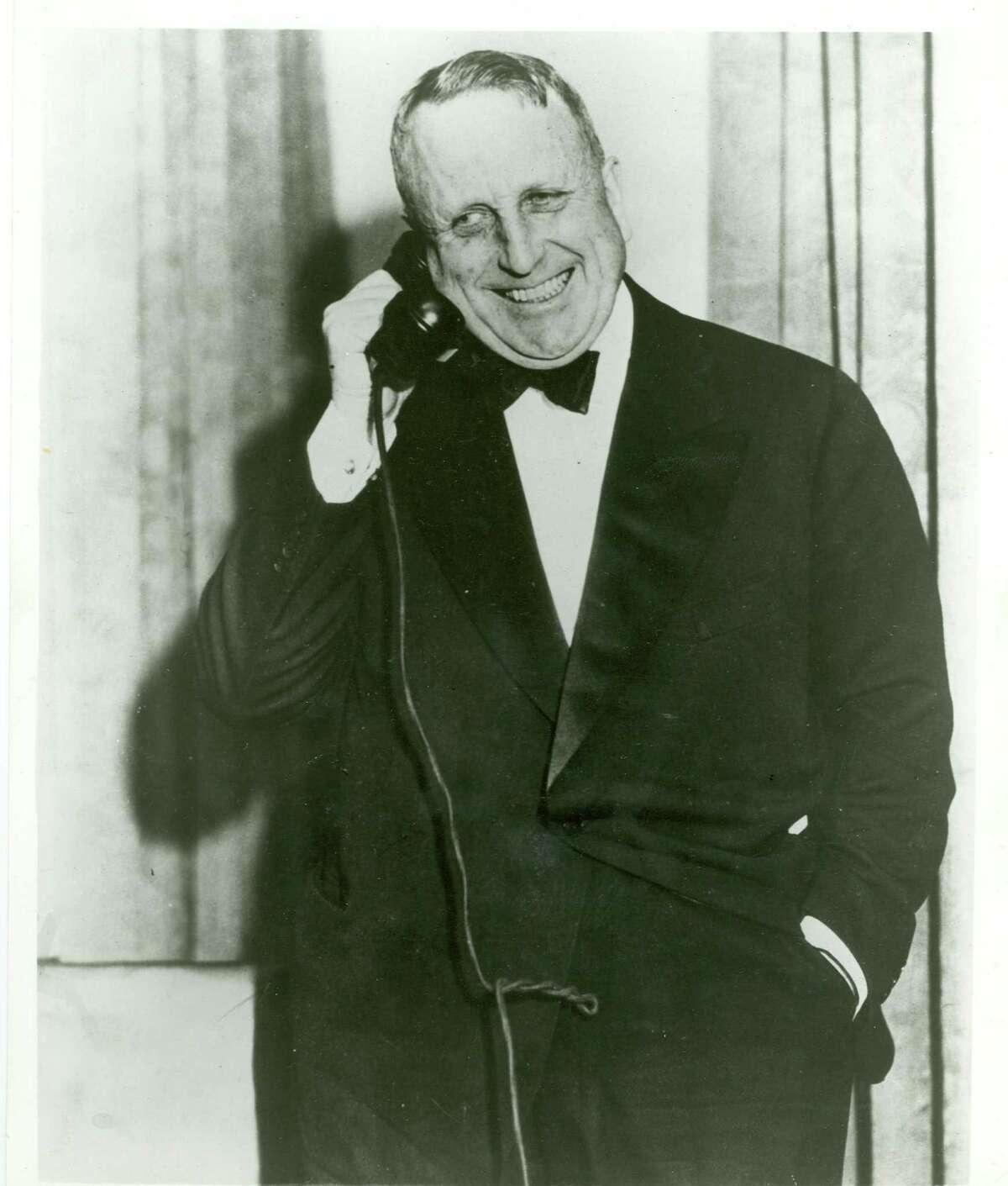 William Randolph Hearst (shown around 1930) was the inspiration for Orson Welles' film