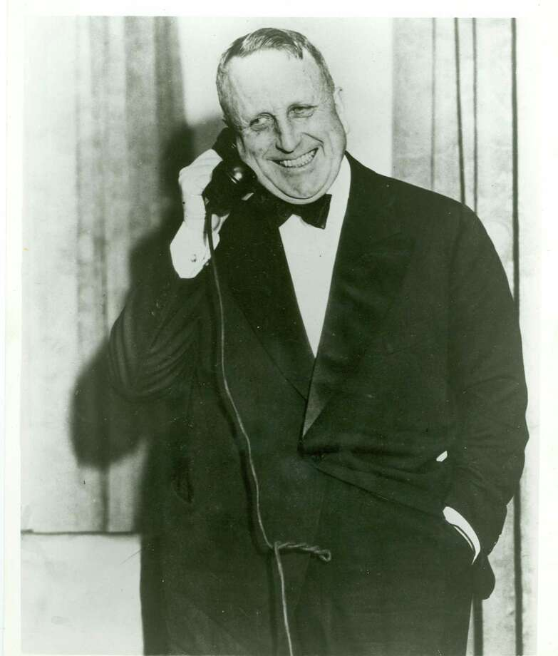 "William Randolph Hearst (shown around 1930) was the inspiration for Orson Welles' film ""Citizen Kane."" Photo: Hearst San Simeon State Historical Monument"