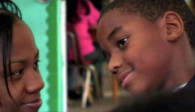 "Tanika and her son, Kareem, are shown in a scene from ""Mothers of Bedford."" This moving documentary will be screened Sunday, March 17, at The Ridgefield Playhouse. Director Jenifer McShane and editor Toby Shimin will be on hand for a Q&A, along with some others who were involved in the film. Photo: Contributed Photo"