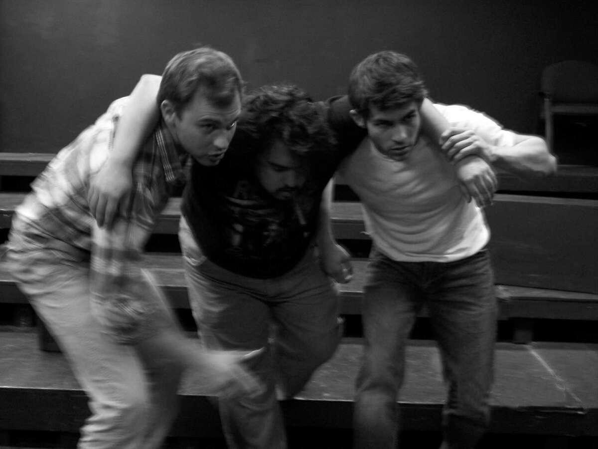 Ty Mylnar (from left), Alex Coy and Rodman Bolek star in