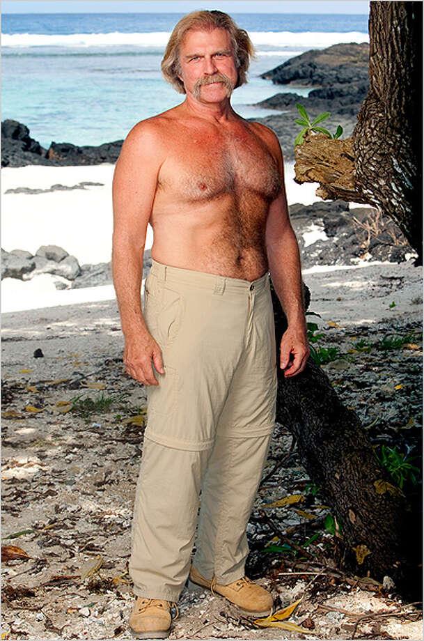 Greg Tarzan Smith of Houston: Survivor: One World, Season 24 (2012) Photo: Monty Brinton / ©2011 CBS Broadcasting Inc.