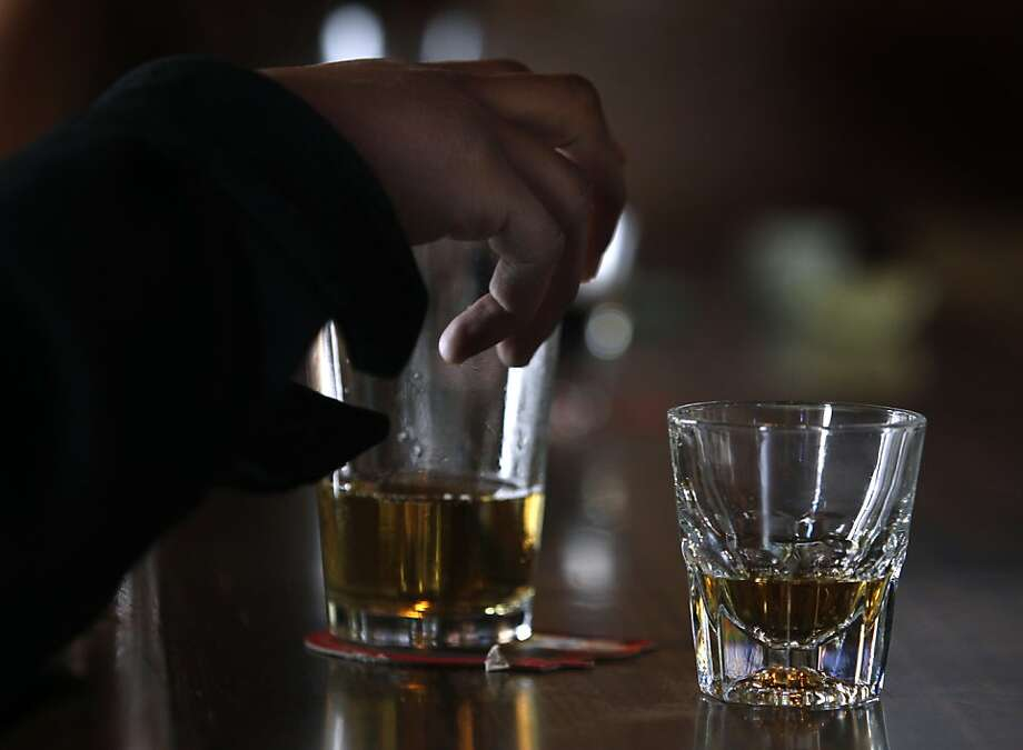 The Tempest and other bars in S.F. could serve this beer and bourbon order until 4 a.m. if the city gets state permission. Photo: Paul Chinn, The Chronicle