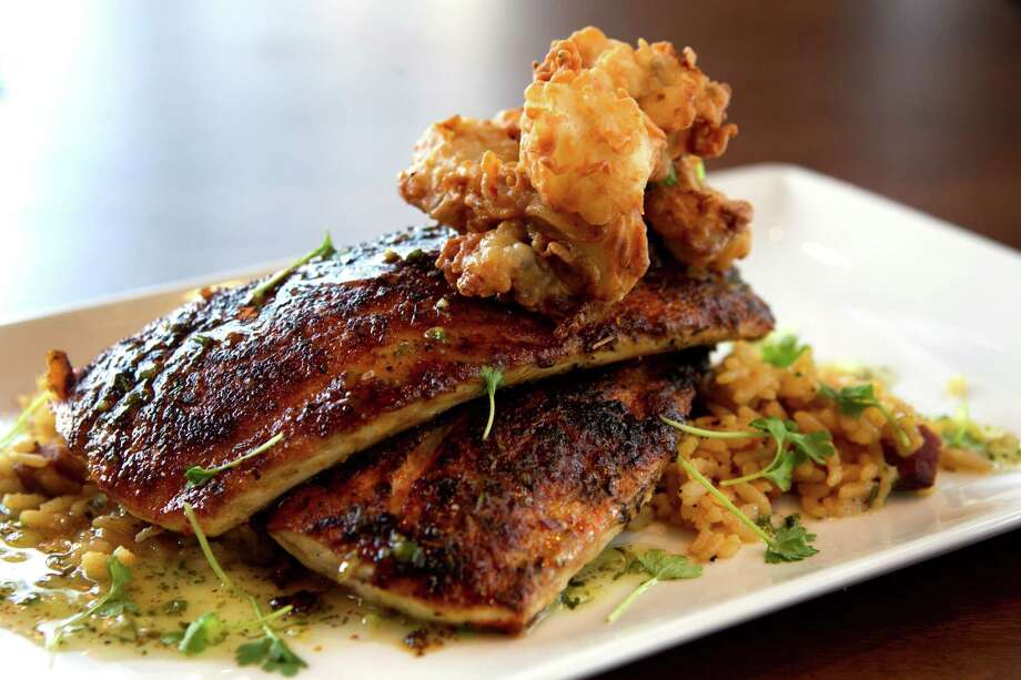 Blackened Texas Gulf Red Fish. Photo: Brett Coomer, Houston Chronicle / © 2013 Houston Chronicle