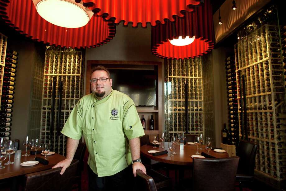 Chef Jeff Taylor poses for a portrait . Photo: Brett Coomer, Houston Chronicle / © 2013 Houston Chronicle