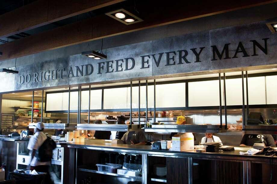 The kitchen at Del Frisco's Grille. Photo: Brett Coomer, Houston Chronicle / © 2013 Houston Chronicle