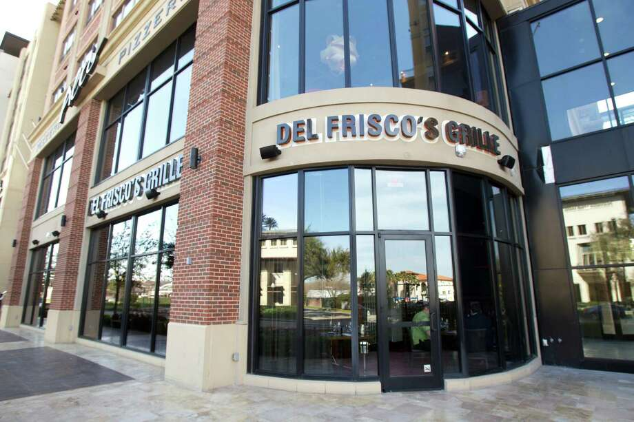 The exterior of Del Frisco's Grille. Photo: Brett Coomer, Houston Chronicle / © 2013 Houston Chronicle