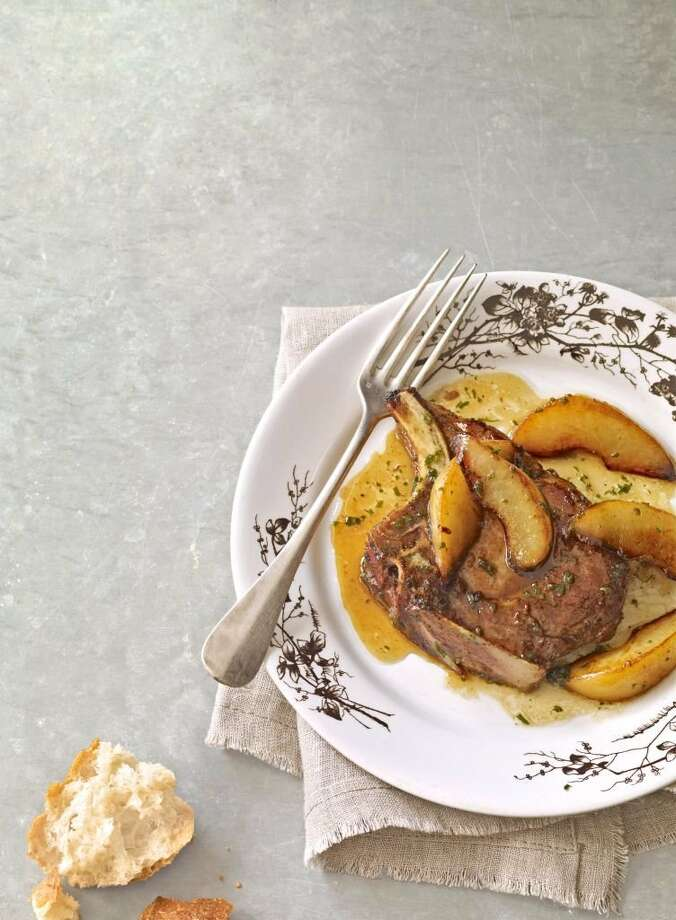 Country Living recipe for Beer-Braised Pork Chops. Photo: Kana Okada