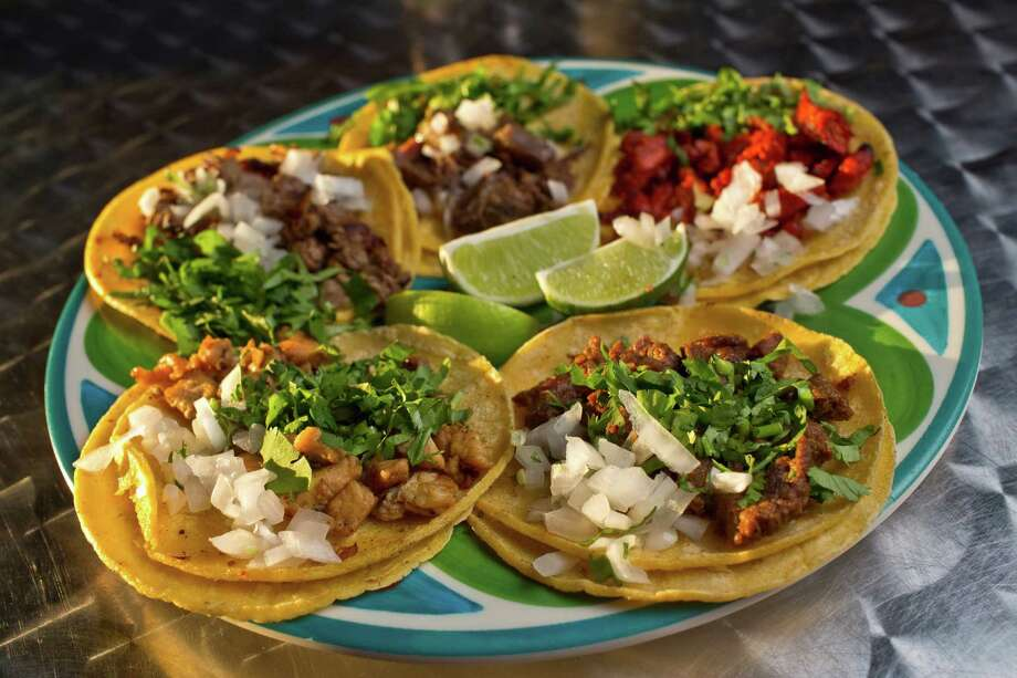 Taqueria La Macro ★    - La Macro is so good, you'll forget to add salsa. 1822 N. Main (at Hogan), 713-226-8226 Hours: BL&D: 10 a.m.-8 p.m. Mondays-Thursdays; 10 a.m.-9 p.m. Fridays and Saturdays; noon-6 p.m. Sundays Credit cards: all major Prices: tacos $1.75-$3; entrees $4-$6.95 Must-orders: Tuesday mole specials, green or red; Gringa  taco with Trompo pork and pineapple; taquiza platter; huarache;  trompi-burger; melon or mango aguas frescas Reservations:not taken; first-come, first-served Noise level: moderate Photo: Eric Kayne / © 2013 Eric Kayne