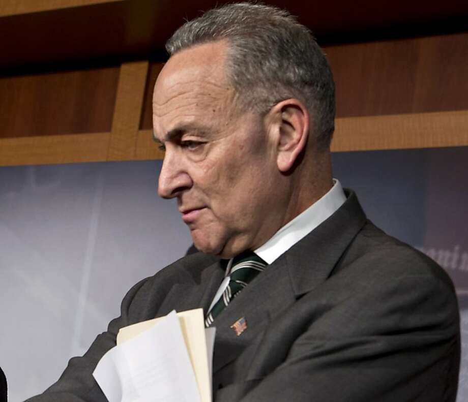 Sen. Chuck Schumer, D-N.Y. Photo: J. Scott Applewhite, Associated Press