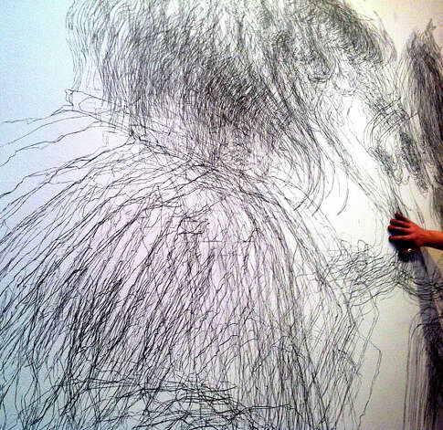 "The Aldrich Contemporary Art Museum kicks off Draw On! with their ""Extreme Drawing!"" exhibition opening and program launch on Sunday, March 24. Photo: Contributed Photo"