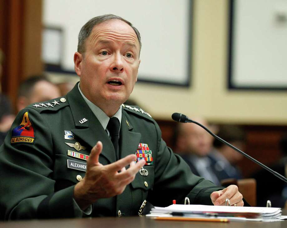 Army Gen. Keith B. Alexander, commander of the U.S. Cyber Command, told lawmakers that 13 teams are being formed to protect the nation in cyberspace. Photo: Manuel Balce Ceneta, Associated Press / AP