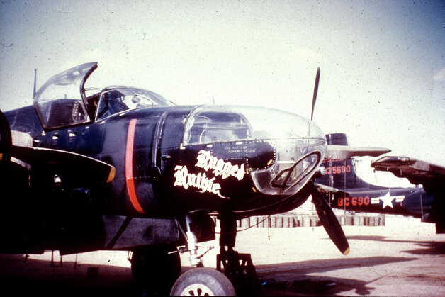 RB-26Cs carried cameras in the nose and in the fuselage behind the wings. Photo: U.S. Air Force