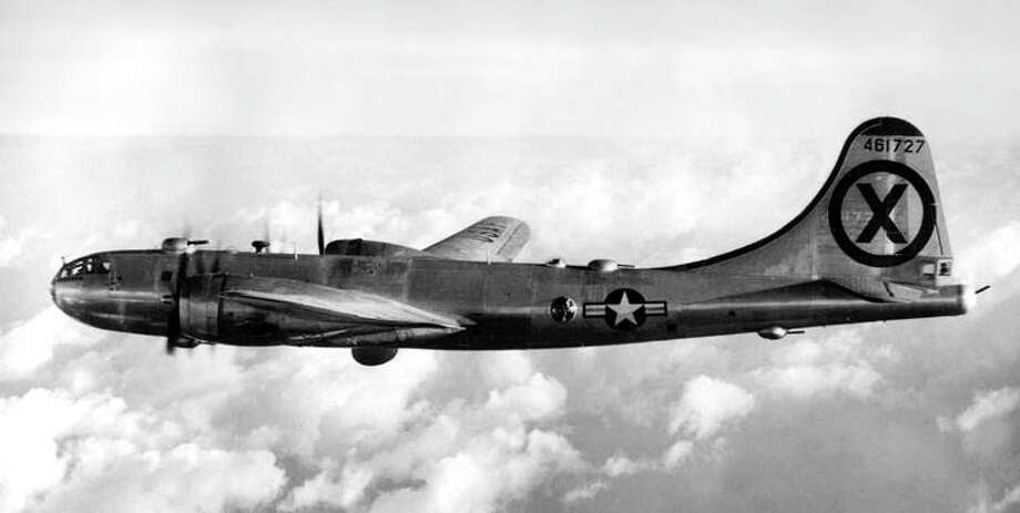 The Boeing F-13A was a reconnaissance version of the B-29 Superfortress. It flew over North Korea during the Korean War. Photo: U.S. Air Force