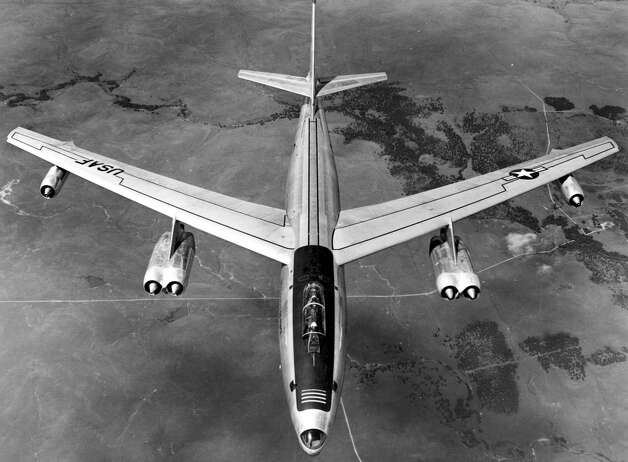 The RB-47 was the reconnaissance version of the Boeing B-47 Stratojet. The U.S. Air Force brought the jet on early in the Cold War to gather information about Soviet air defense radar systems, including their location, range and coverage. Boeing completed the first RB-47H in 1955. Photo: U.S. Air Force