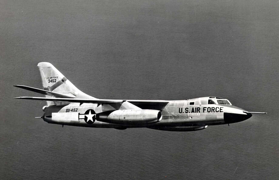 The Douglas RB-66 was the reconnaissance version of the Air Force's B-66 Destroyer, which was based on the Navy's A-3 Skywarrior. The Air Force also used versions as a tactical light bomber, for weather reconnaissance and for electronic countermeasures. Photo: U.S. Air Force