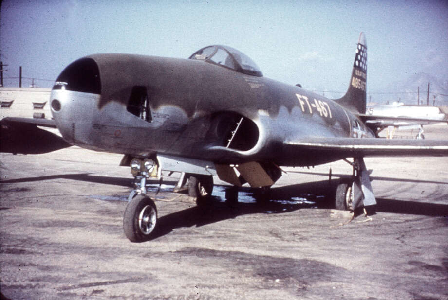 The Lockheed RF-80A was the reconnaissance version of the F-80 Shooting Star, and the Air Force's first reconnaissance jet. Photo: U.S. Air Force