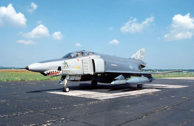 The McDonnell Douglas RF-4C Phantom II was a tactical reconnaissance version of the F-4C fighter. The first production aircraft made its initial flight on May 18, 1964. It could carry a variety of cameras in three different stations in its nose section, and take photos at both high and low altitude, day or night. Photo: U.S. Air Force