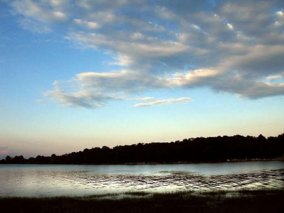 Greenwich Point at dusk. Photo: Bob Luckey / Stamford Advocate