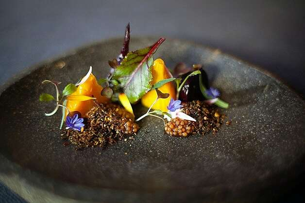 Baby beets are a centerpiece of this dish at Sons & Daughters. Photo: Sons & Daughters