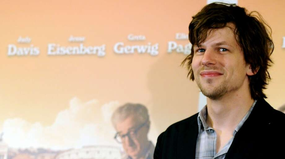 Jesse Eisenberg in 2012, promoting the movie ''To Rome With Love.''