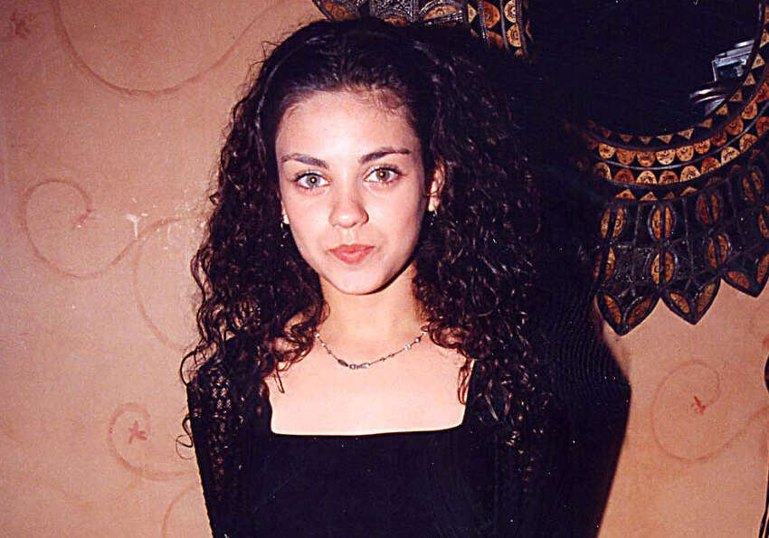 Mila Kunis in 1998, the year ''That '70s Show'' debuted with her and other actors. Her birthd