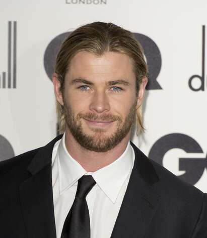 Chris Hemsworth in 2012, at the GQ Men of the Year Awards.