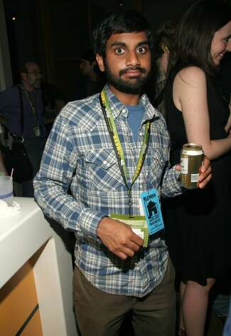 Aziz Ansari in 2007. His birthday was Feb. 23.
