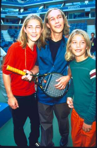 ''MMMBop.'' Yes, Taylor Hanson, left, of ''Hanson'' is turning 30 on March 14 this year. He's pictured at age 14 in 1997, with brothers Isaac, center, and Zac, right.