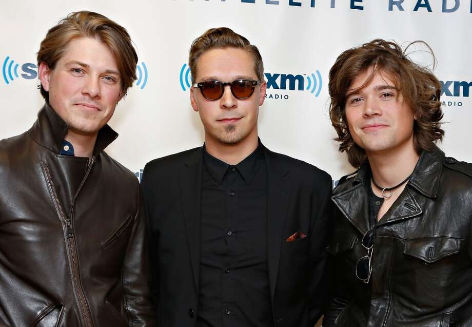 Here's Hanson in 2013, from left to right: Taylor Hanson, Isaac Hanson and Zac Hanson.